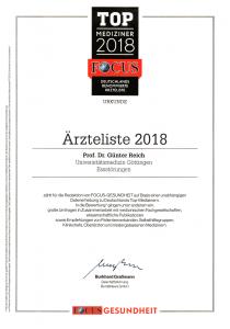 Top Mediziner 2018