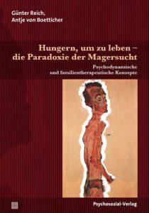 Buchcover Hungern, um zu leben – die Paradoxie der Magersucht